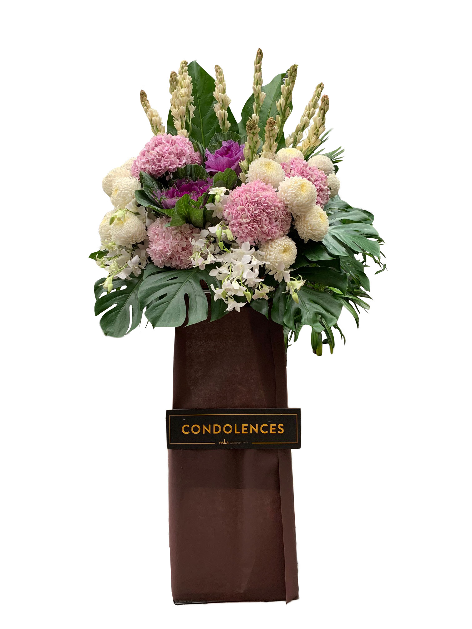 Never Forgotten Funeral Flower Stand | Condolence Flower | Eska Creative Gifting