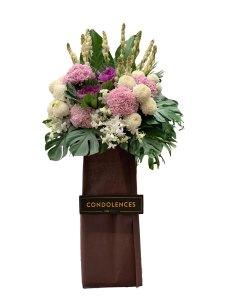 Never Forgotten Funeral Flower Stand   Condolence Flower   Eska Creative Gifting