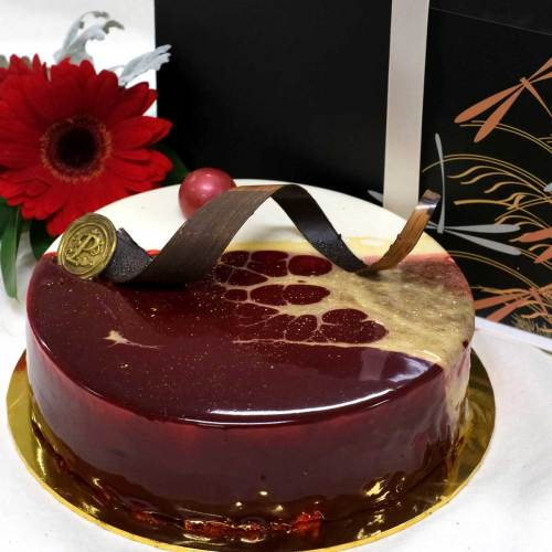 Raspberry Cheese Cake | Birthday Cakes | Eska Creative Gifting
