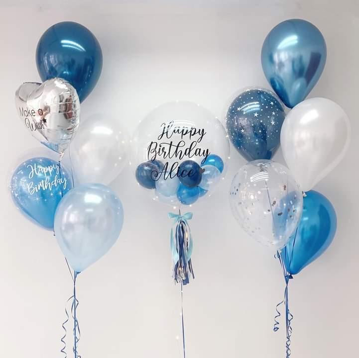 Transparent Bubbles Balloons Birthday | Helium Balloons | Eska Creative Gifting