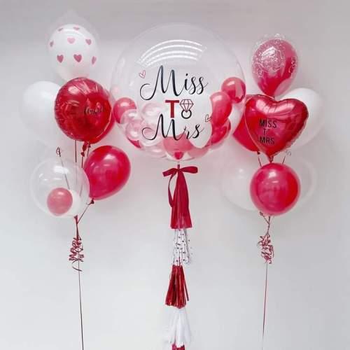 Jumbo Transparent Bubbles Occasion Balloons | Helium Balloons | Eska Creative Gifting