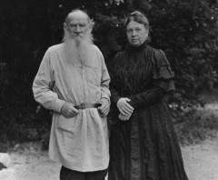 Tolstoy In His Garden