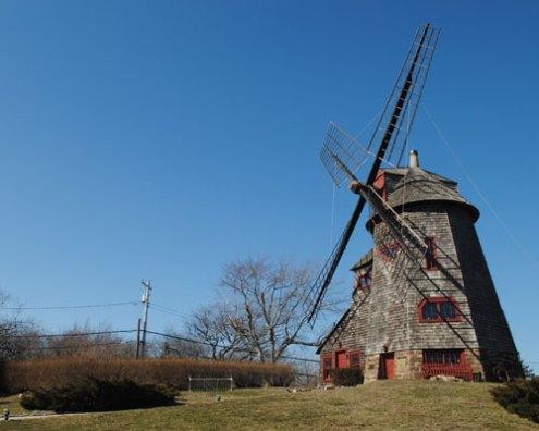 The windmill at the Stony Brook Southampton campus, Southampton, NY