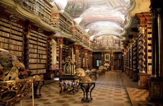 Clementinum-Devlet-Kutuphanesi-Prag-cek-Cumhuriyeti