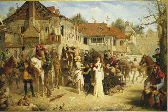 Edward-Henry-Corbould-Canterbury-tales