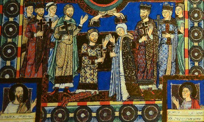The-Gospels-of-Henry-the-Lion-Order-Of-St-Benedict-wedding