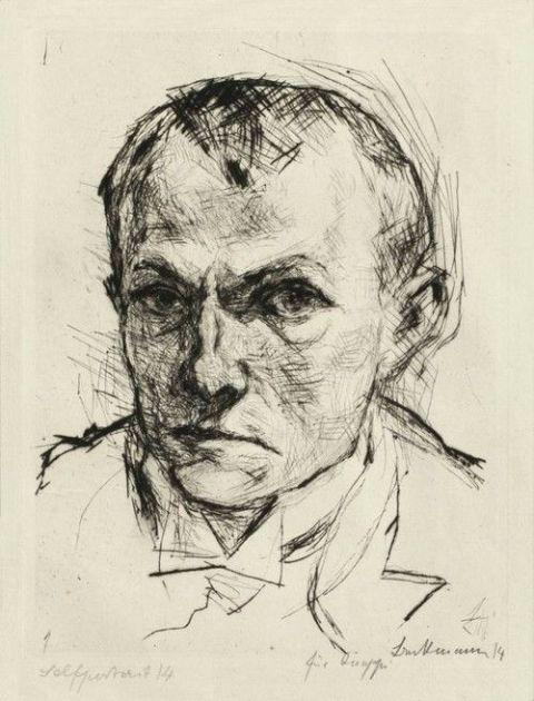 Max-Beckmann-Self-portrait-1914