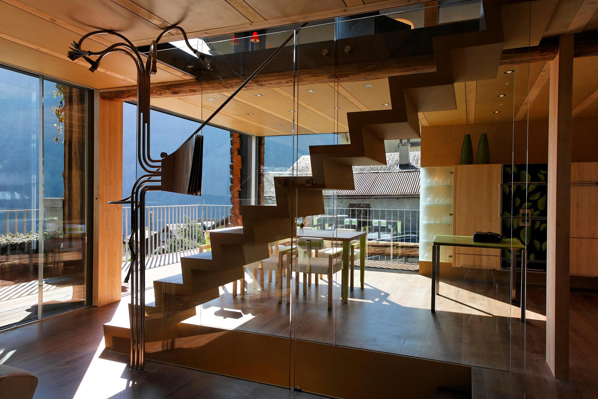 Es Gd Raccard 678 escalierRez hor 20 05 006 - L'escalier du Grand Raccard