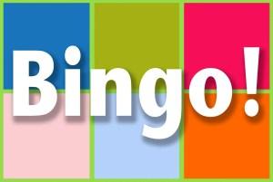 Bingo game for ESL students