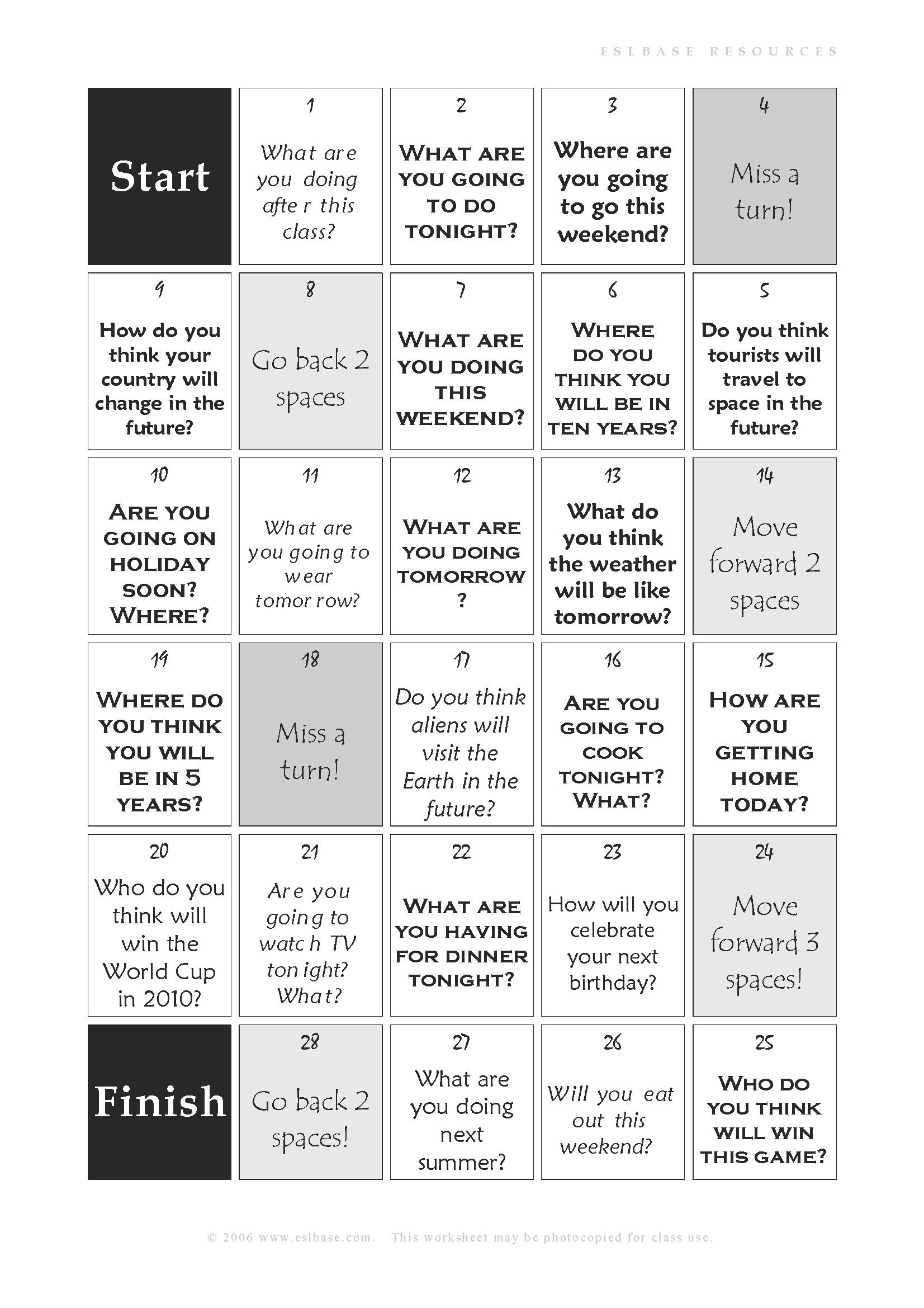 Future Forms Board Game