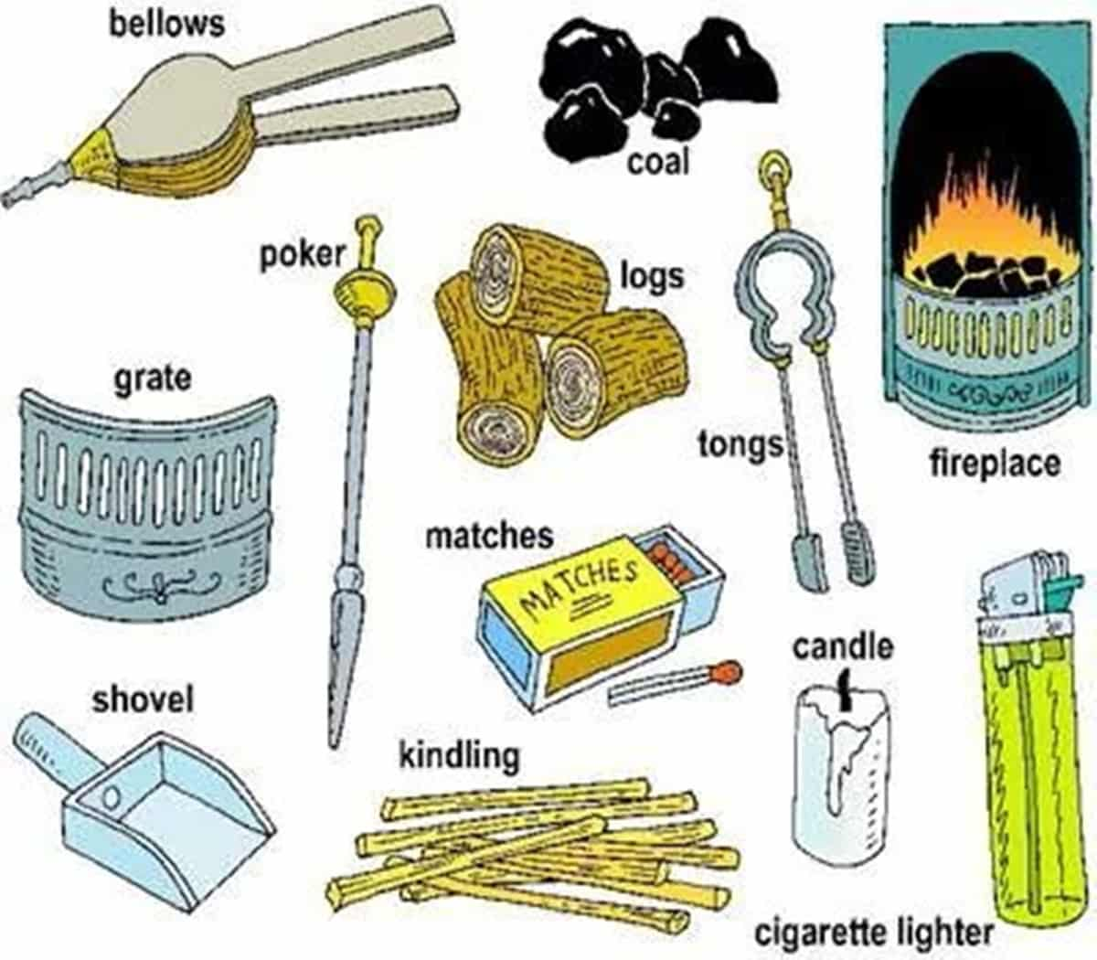 Tools, Equipment, Devices and Home Appliances Vocabulary: 300+ Items Illustrated 17