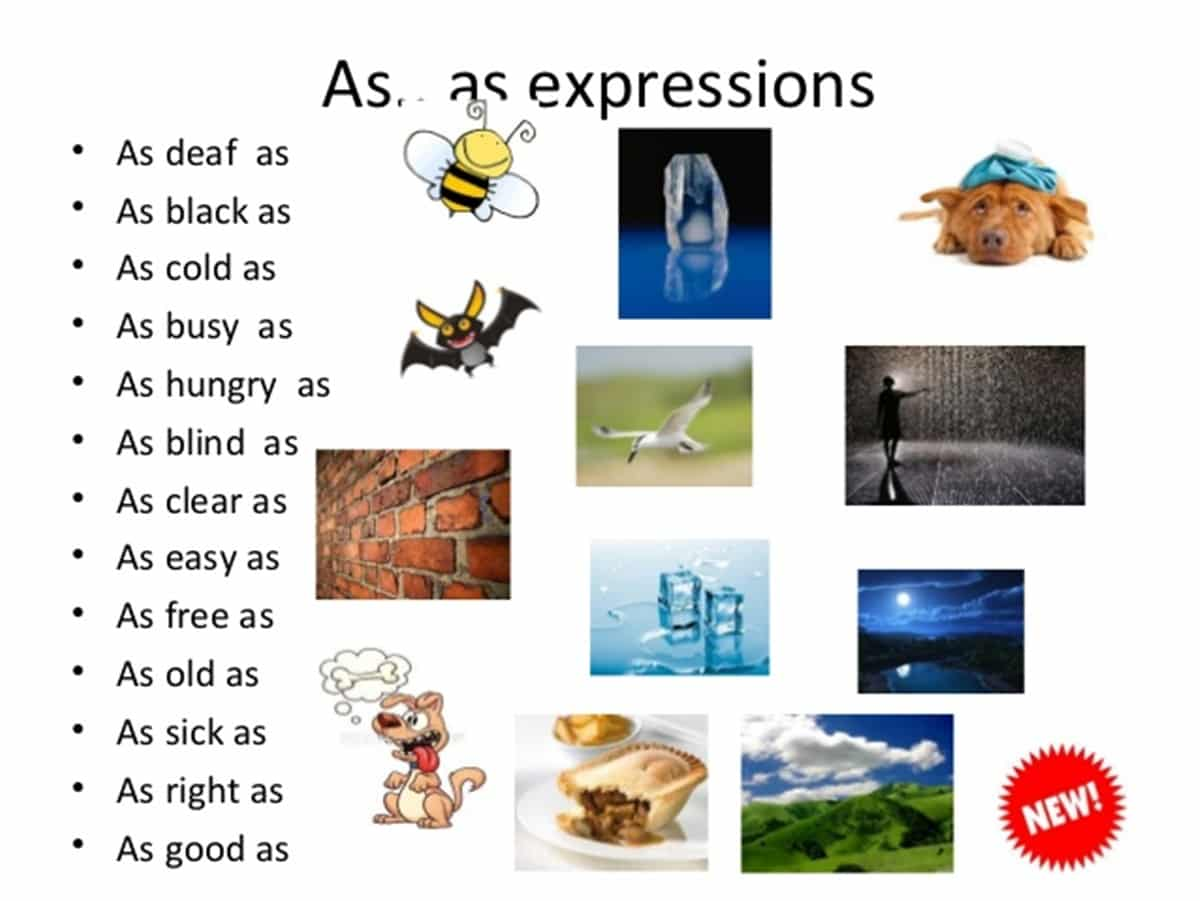 as...as expressions