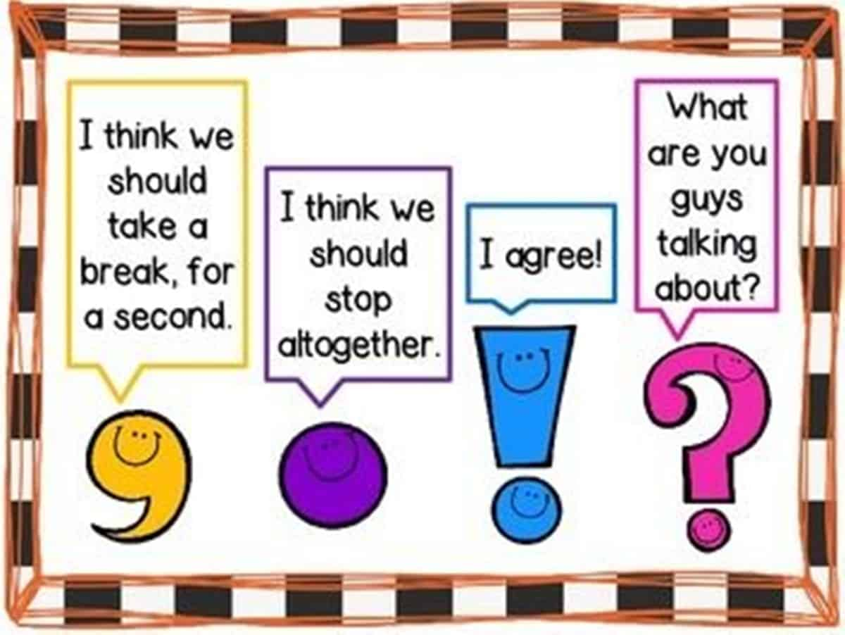 How To Use English Punctuation Marks Correctly
