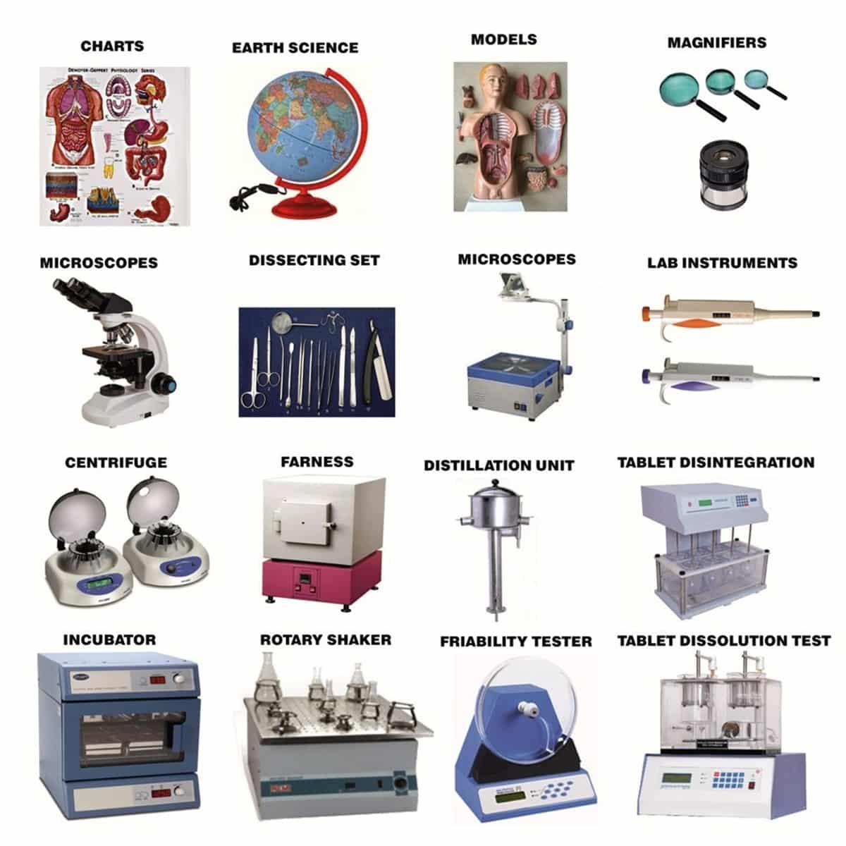 English Vocabulary: Laboratory Equipment and Scientific Instruments 16