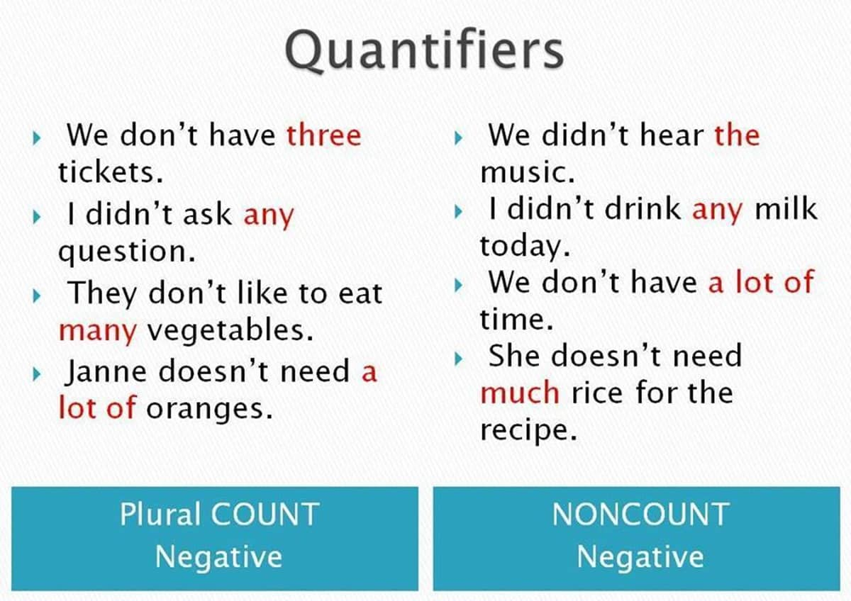 How Much Do You Know About Quantifiers