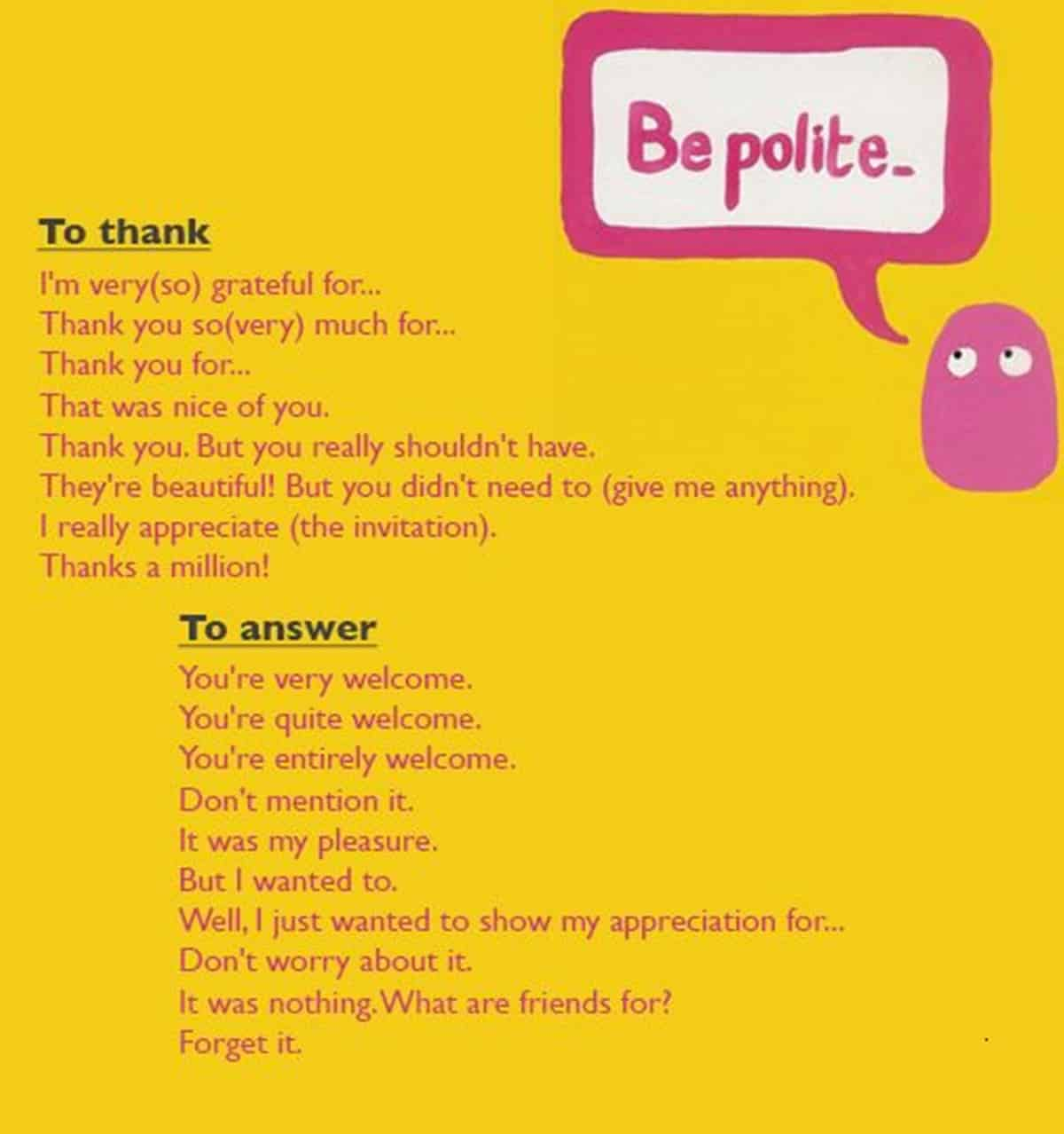 "30+ Delightful Ways to Say ""Thank You"" in English 16"