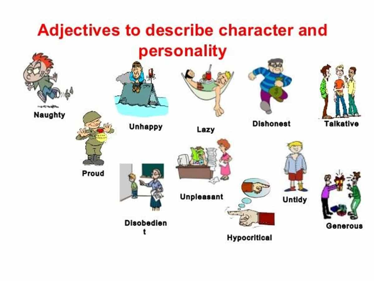 How To Describe Someone S Character And Personality In
