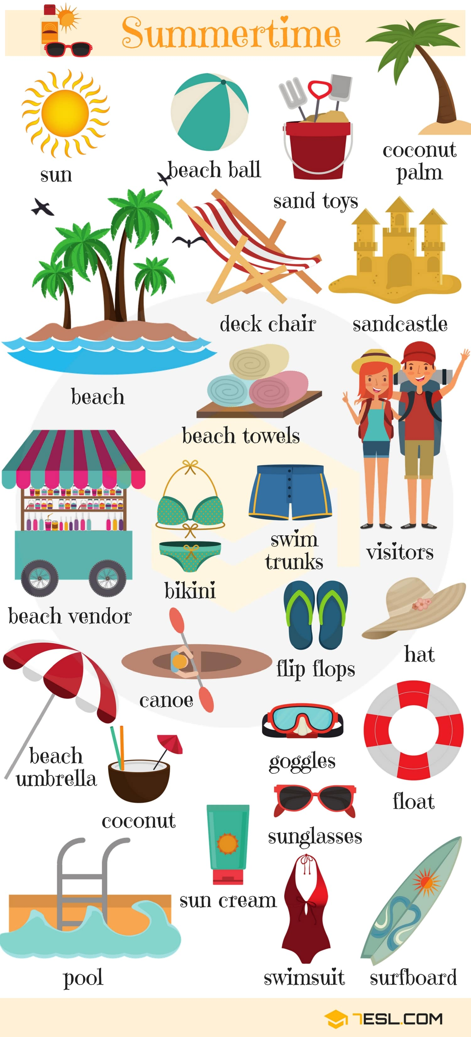 Holidays Vocabulary In English