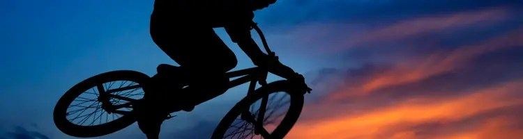 BMX. bike, bicycle