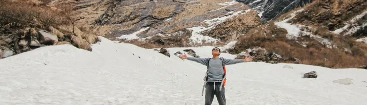 young mountaineer