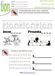 Nursery Level 2 Worksheets