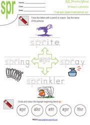 Printable Tri Graph Worksheets Three