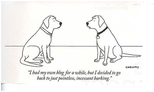 Dogs who Blog