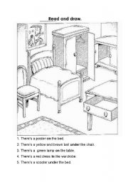 Prepositions Read And Draw