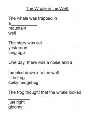 Whales Worksheets