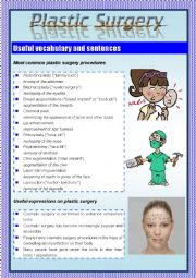 Plastic Surgery Worksheets