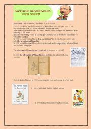 Pinocchio Worksheets