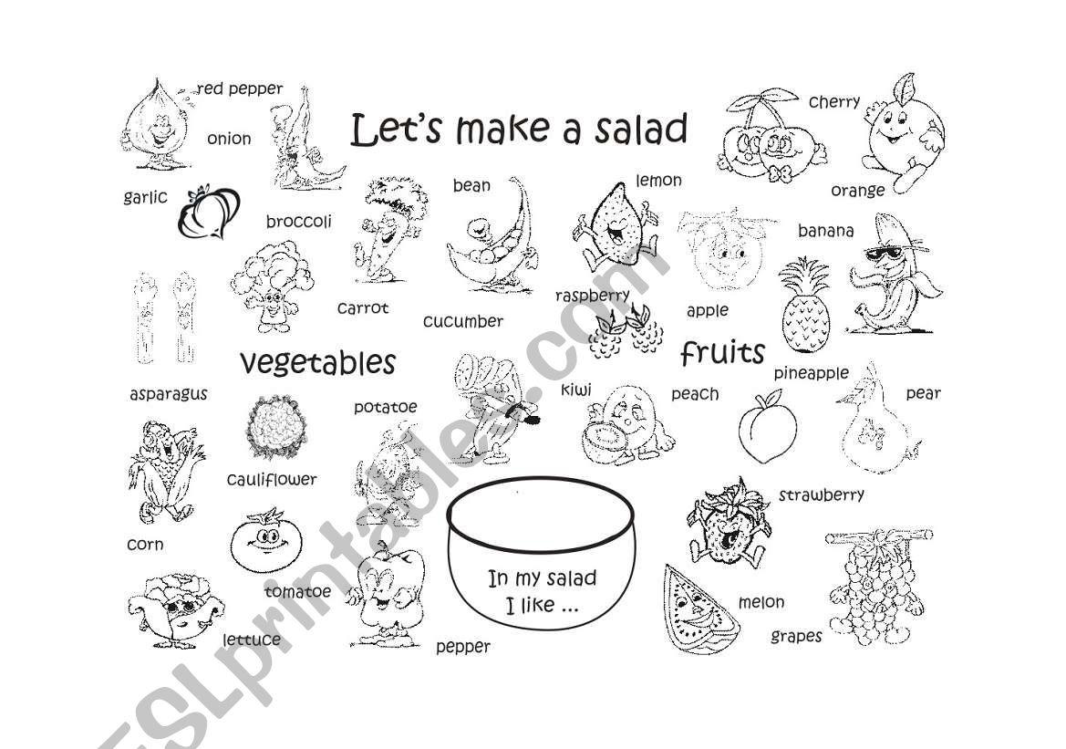 Let S Make A Salad