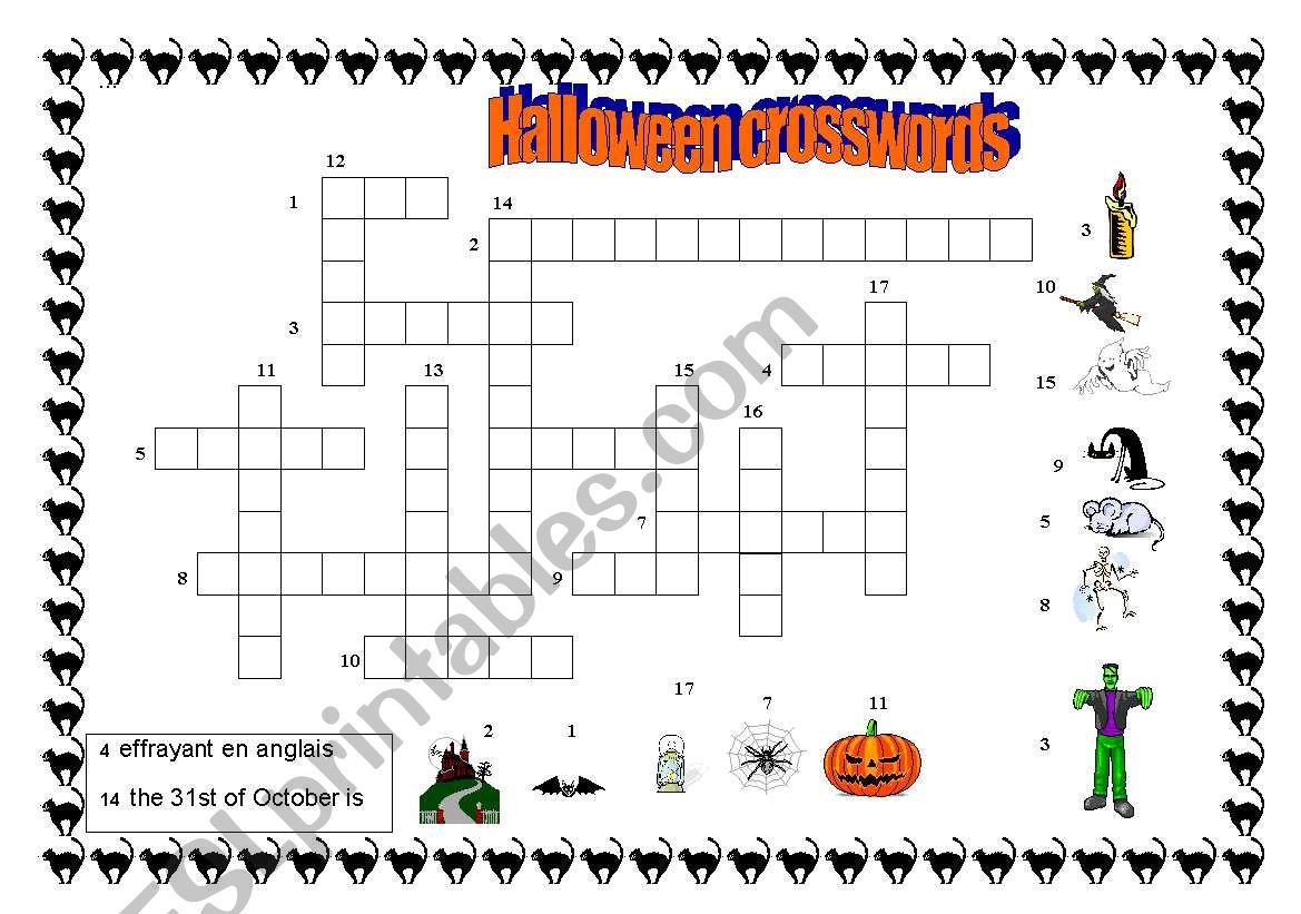 Halloween Crosswords