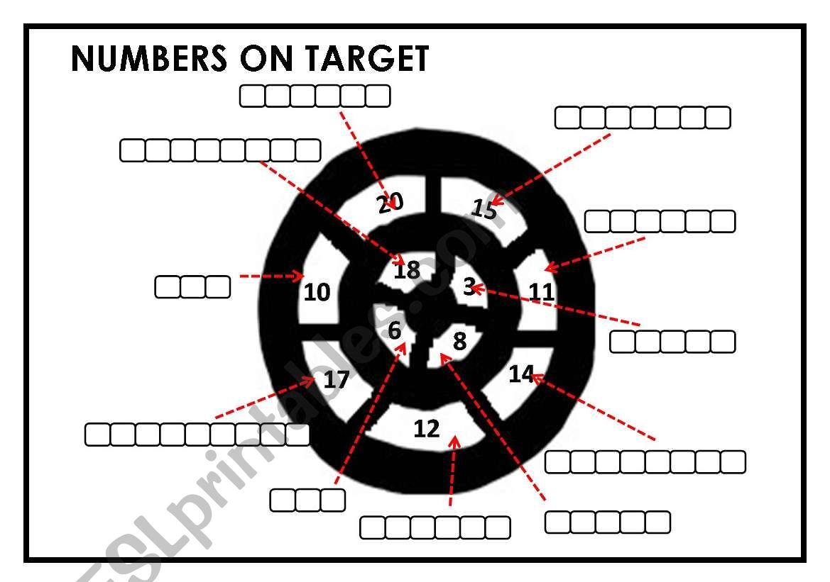 Numbers On Target