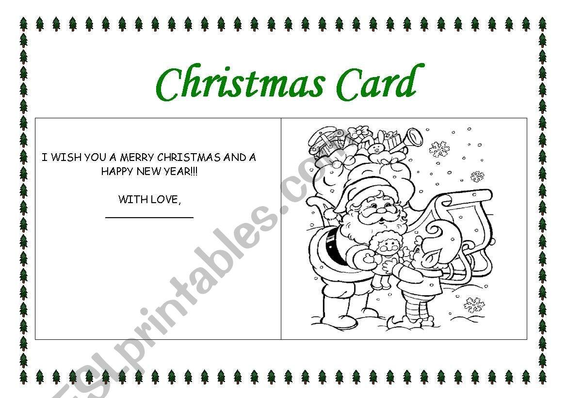 Making A Christmas Card 2