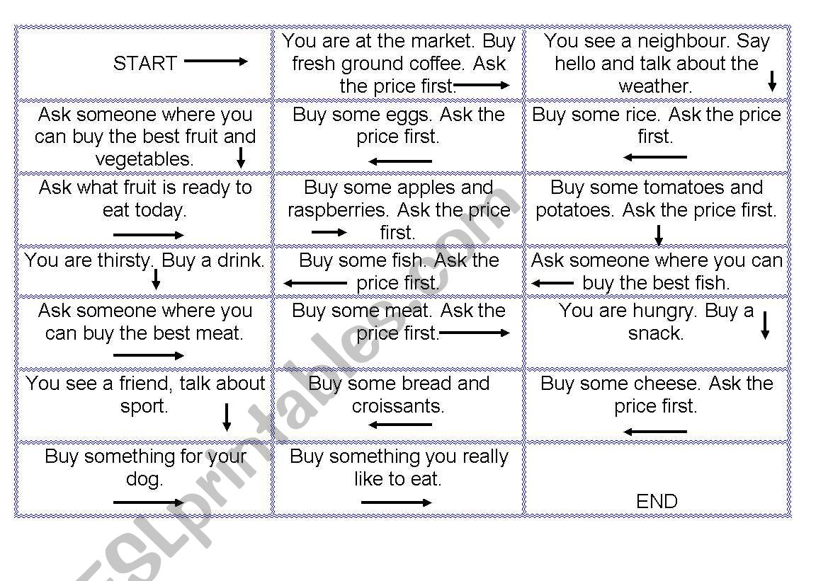 Shopping Role Play
