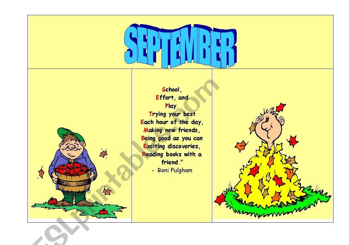 A Rhyming Calendar Part 3