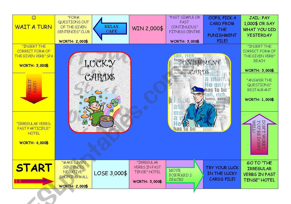 Grammar Monopoly 1 5