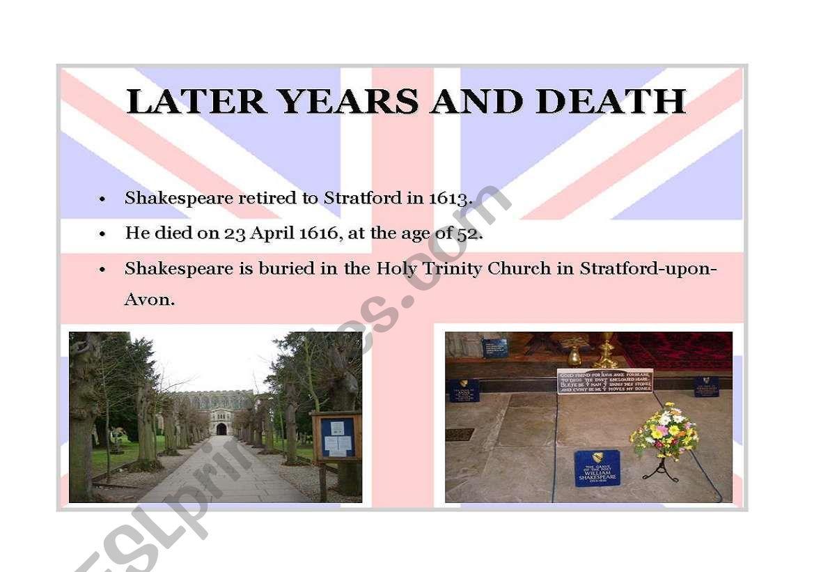 William Shakespeare Part 7