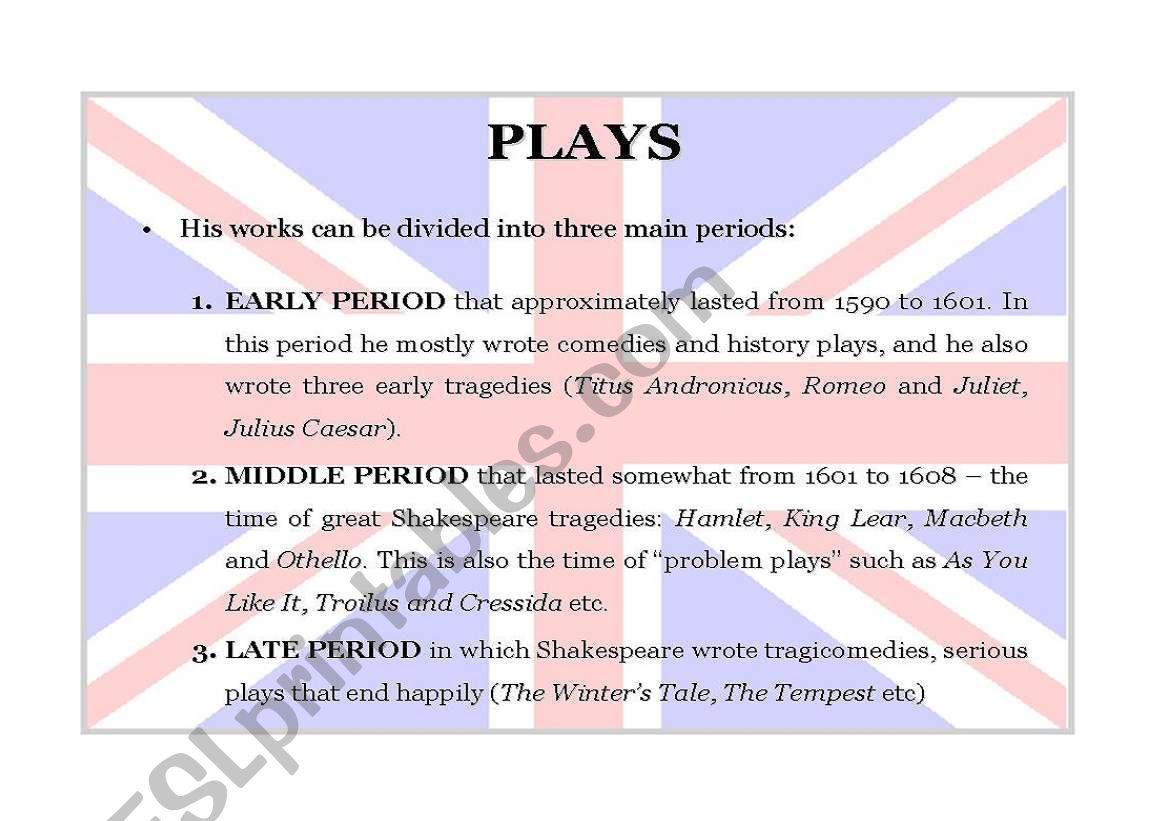 William Shakespeare Part 9