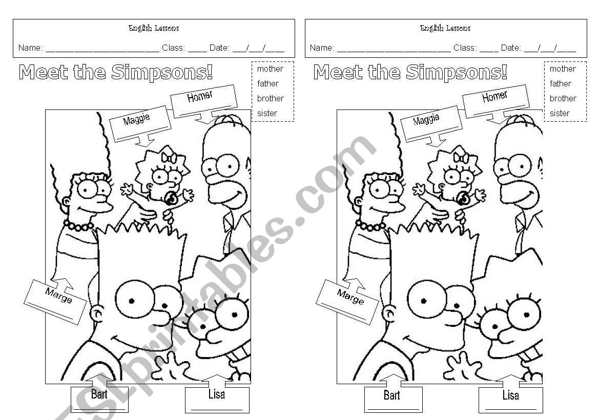 Meet The Simpsons