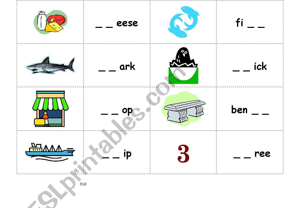 Phonics Sh Ch Th Wh Board Game New Version 4pages