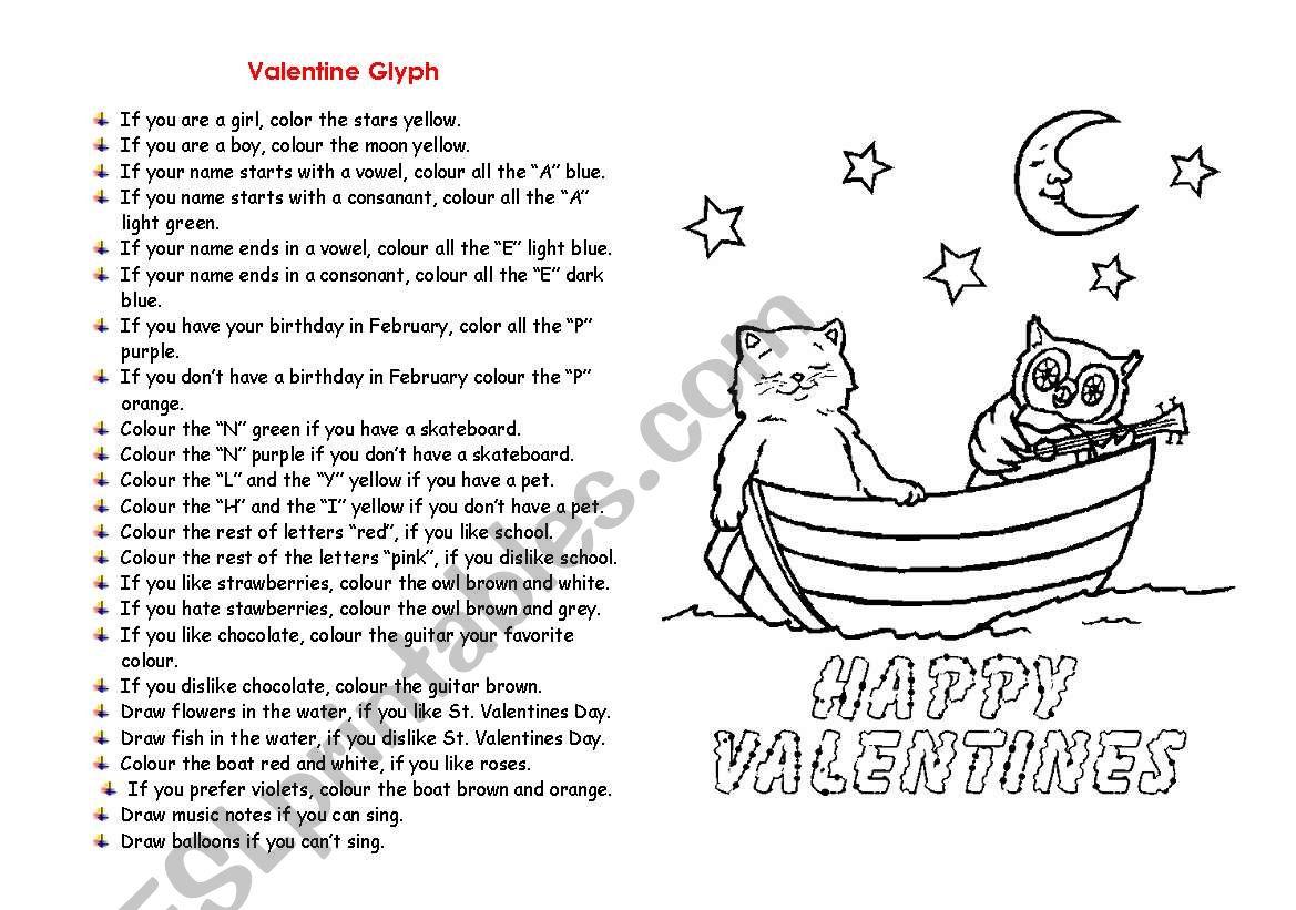 Valentine Glyph