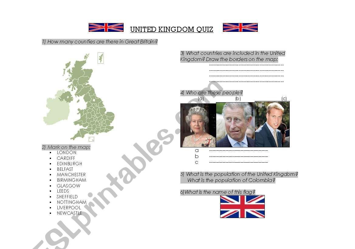 United Kingdom Quiz