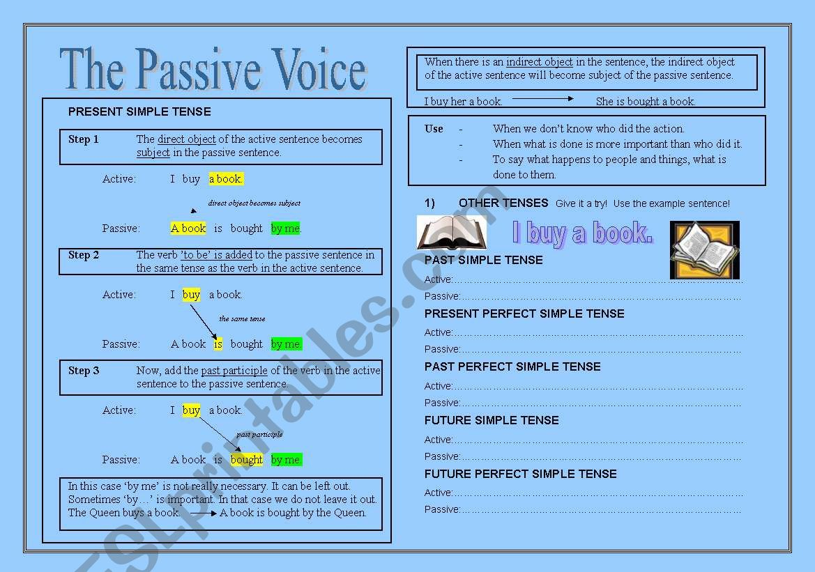 The Passive Theory Exercises
