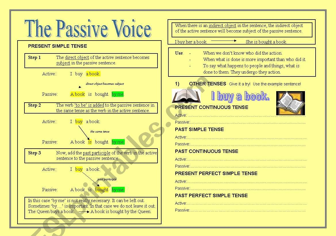 The Passive Voice Theory Exercises