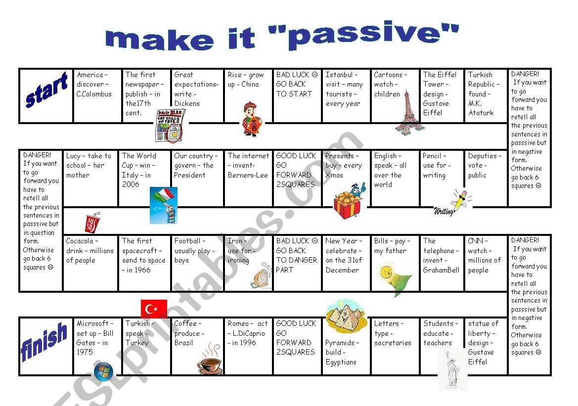 Make It Passive Game