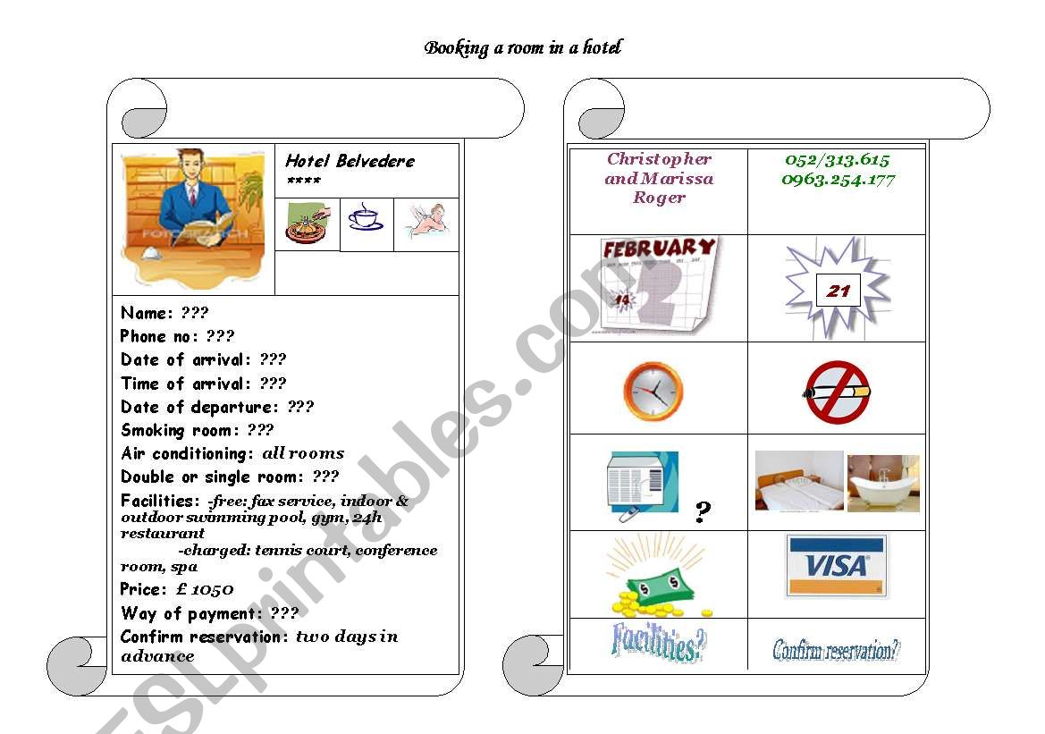 Role Play Worksheets