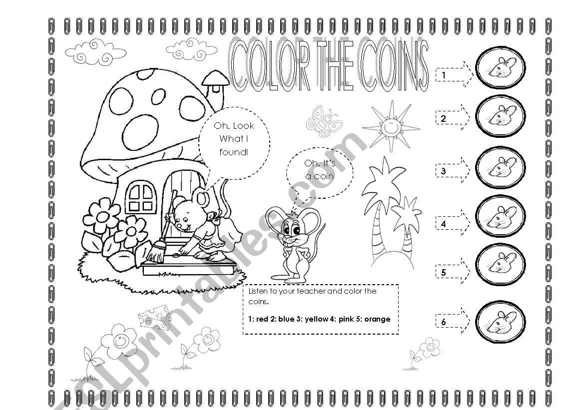 Color The Coins