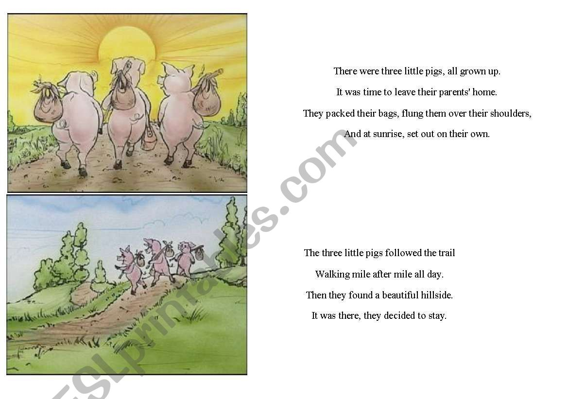 There Were Three Little Pigs